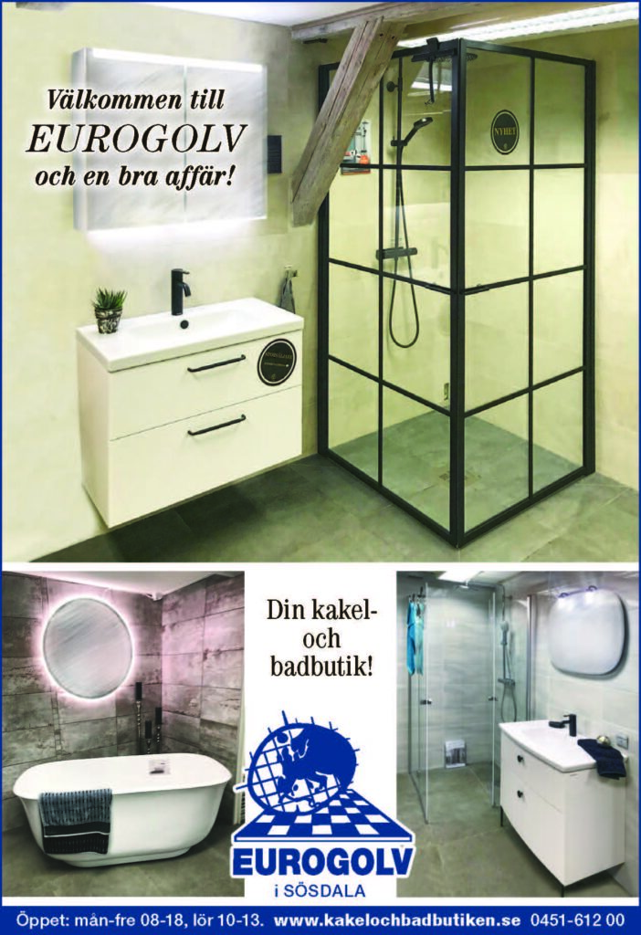 Eurogolv Kakelochbadbutiken Välkomnmen 2020 Dusch Badumsinredning Badkar