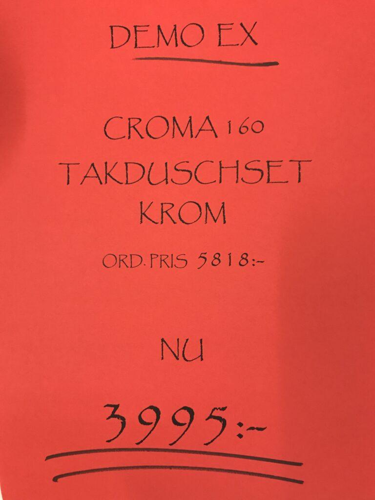 Kakel och Badbutiken Eurogolv Dusch Croma Hansgrohe